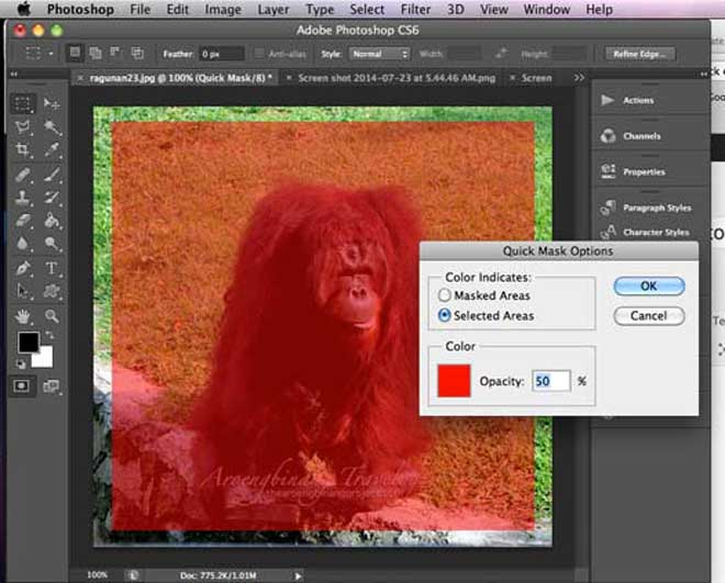 membuat batas dan pinggiran foto dengan photoshop cs6