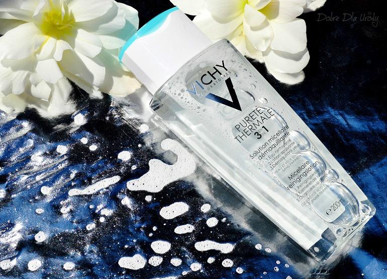 Vichy Purete Thermale Płyn micelarny do demakijażu oczu i wrażliwej skóry twarzy 3 w 1