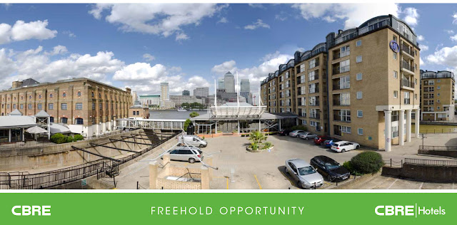 A Rotherhithe Blog: HIlton Hotel, Rotherhithe Street - up for sale?