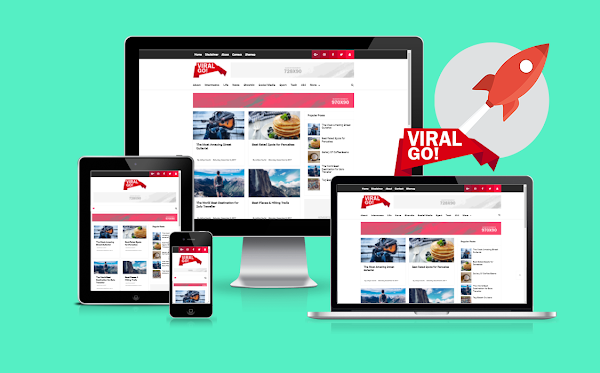 Viral Go! Responsive Blogger Template