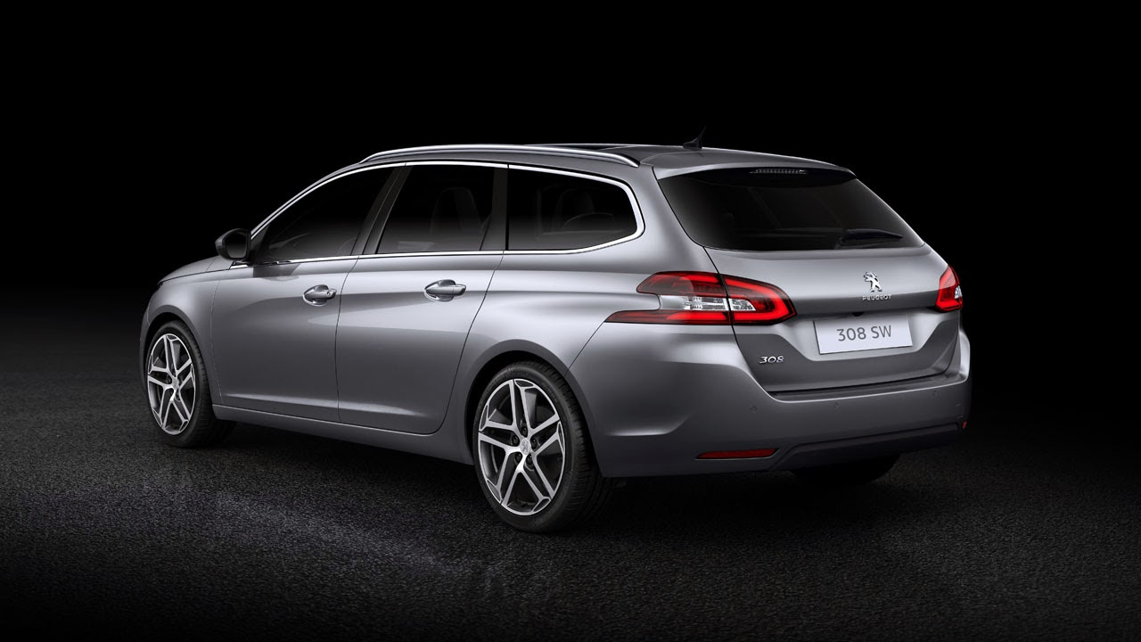 New Peugeot 308 SW - Sleek and Spacious rear