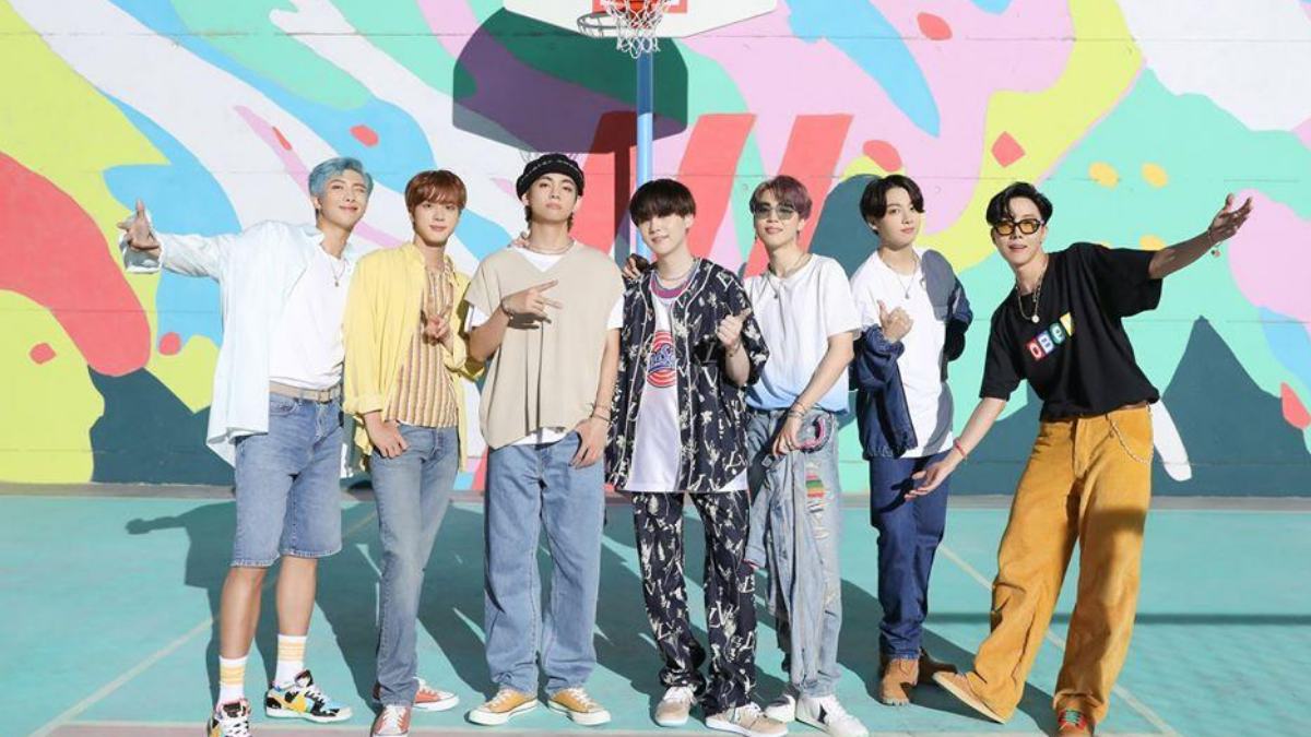 BTS Release The Tropical and Poolside Version of 'Dynamite'