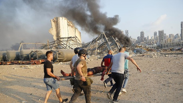 Bak Bom Atom, Ternyata Ini Penyebab Ledakan Dahsyat di Beirut Lebanon