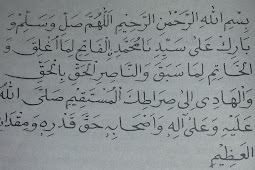 Fadillah sholawat al fatih menghilangkan kesulitan hidup