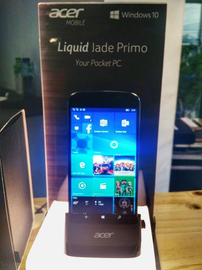 Acer launches Liquid Jade Primo Smartphone