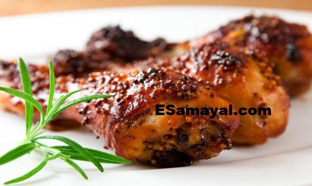 மலபார் சிக்கன் ரோஸ்ட் செய்முறை | Malabar Chikken Roast Recipe !