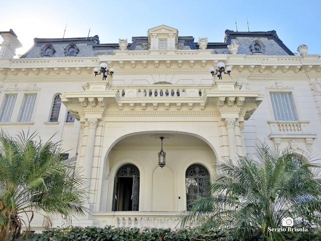 Palacete Violeta (fachada lateral)