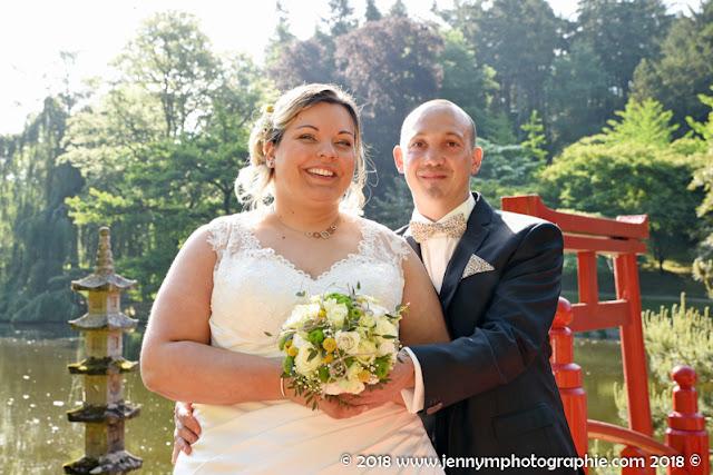 portrait des mariés, photo de couple