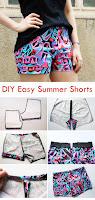 DIY Easy Summer Shorts Pattern & Tutorial