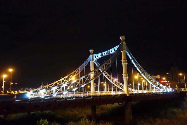 藍天白雲橋~台中大坑景點