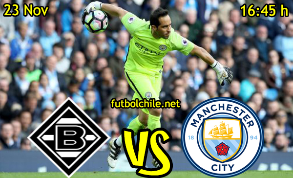 Ver stream hd youtube facebook movil android ios iphone table ipad windows mac linux resultado en vivo, online: Borussia Mönchengladbach vs Manchester City
