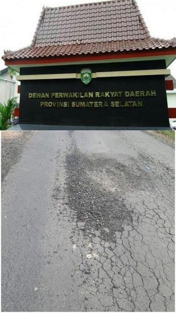 Terkait Kondisi Jalan di Desa Cahaya Maju,DPRD Sumsel Segera Panggil Pihak PU dan Kontraktor