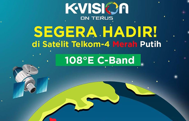 K Vision Migrasi dari palapa d ke telkom 4