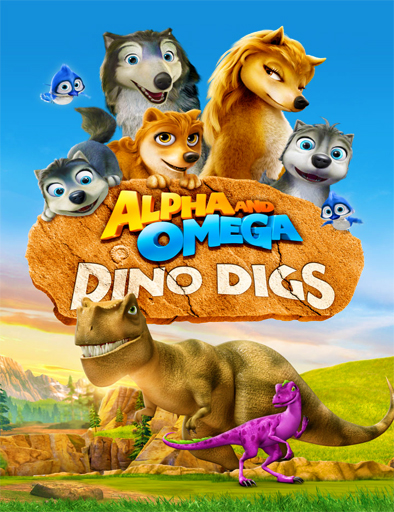 Ver Alpha and Omega: Dino Digs (2016) Online