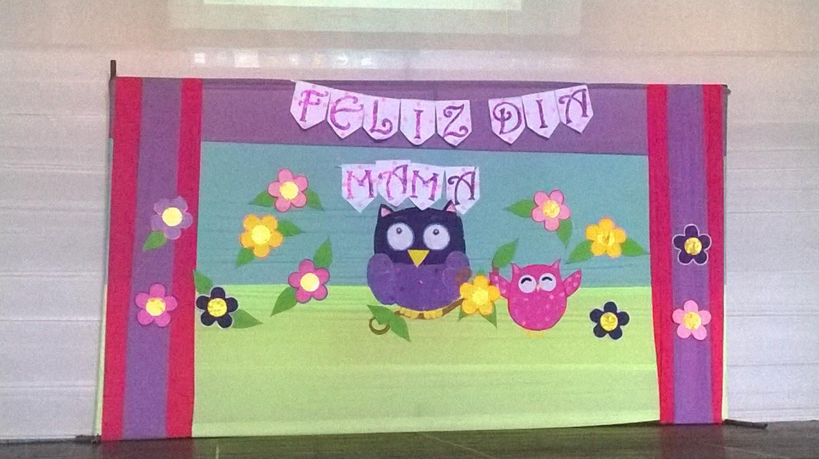 Ambientaci n para la celebracion del d a de la madre - Decoracion para el dia de la madre ...