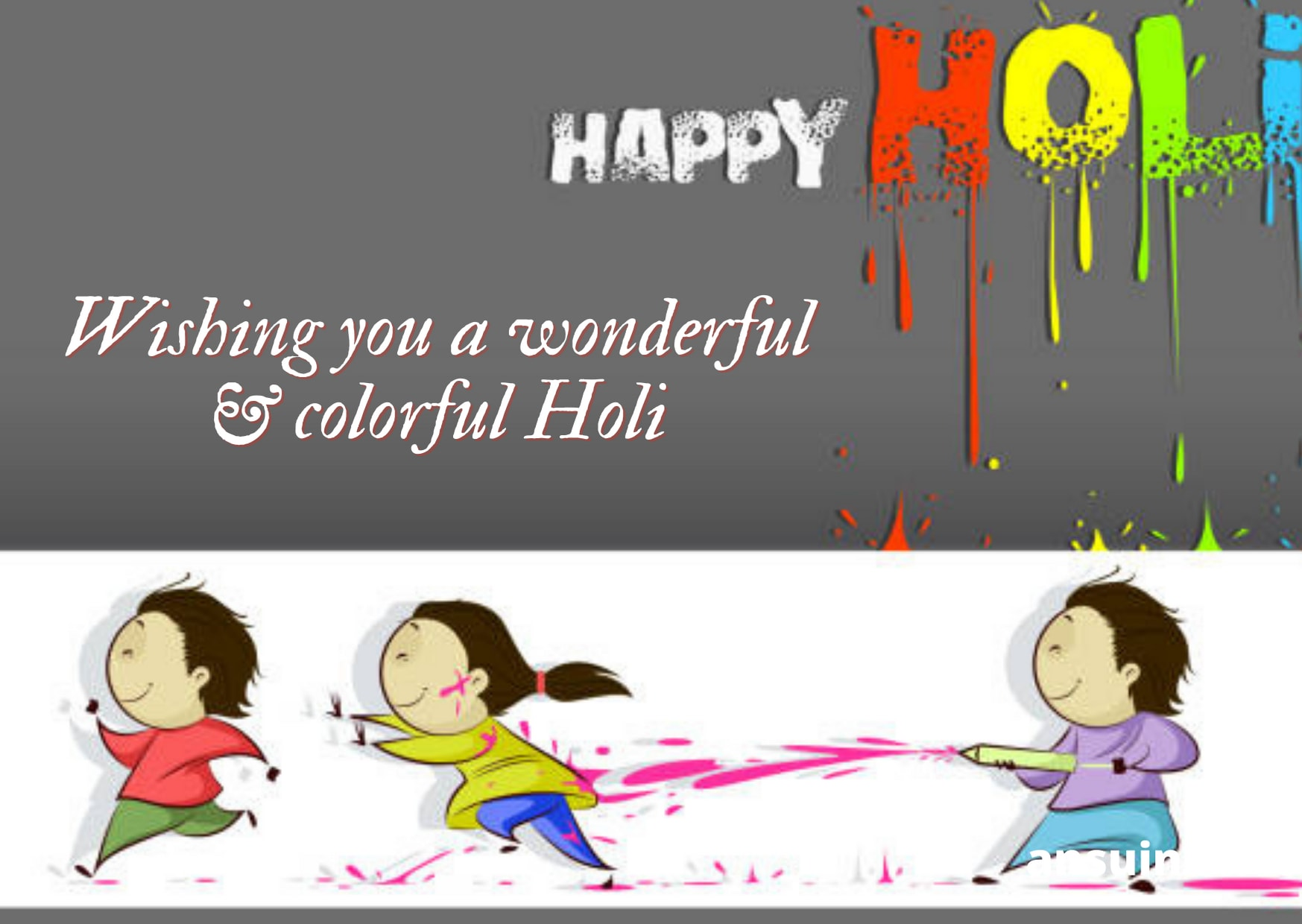 Happy Holi Wishes Images, Quotes SMS In Hindi and English,