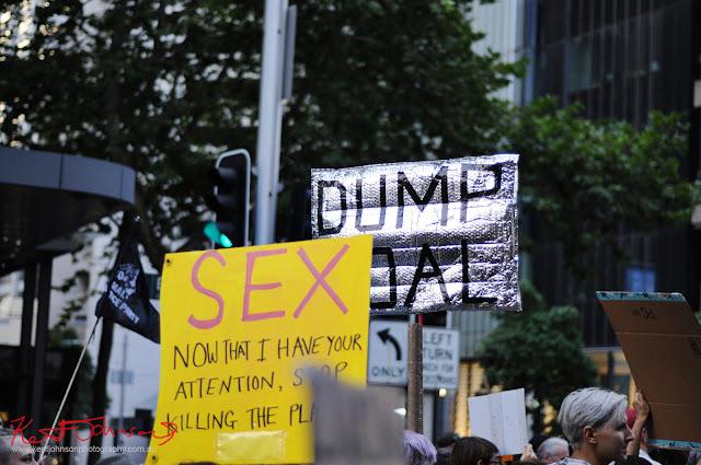Sydney Climate Rally - 'Dump Coal'