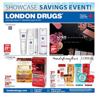 London Drugs Flyer Great Deals valid August 18 - 30, 2017