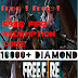 Free FF redeem codes with amazing rewards | free fire redeem codes for may 2021