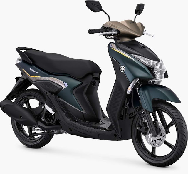 Yamaha gear 125 Metallic Greenish