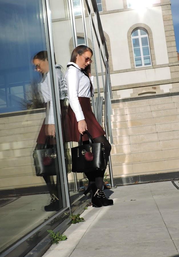 outfit-falda-burdeos