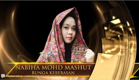 Bunga Kebebasan Menang Anugerah Sastera Johor 2021