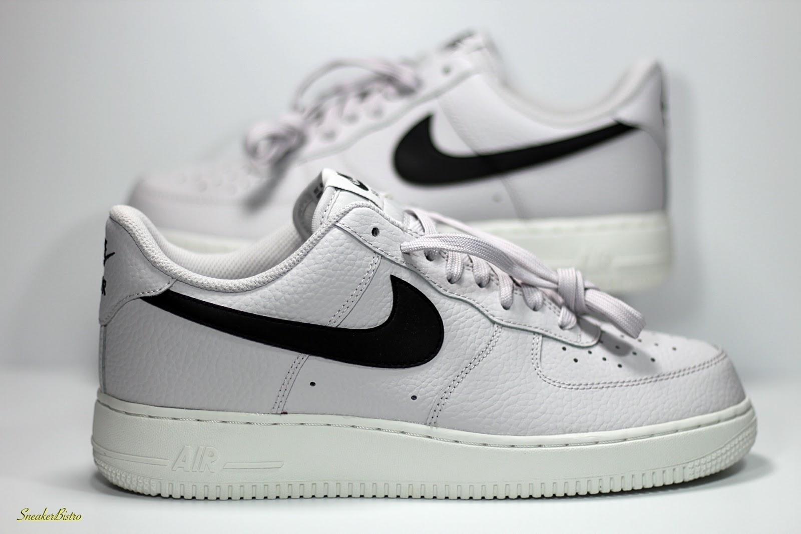5e24f36994f5 Nike Air Force 1  07 Vast Grey  Black-Summit White