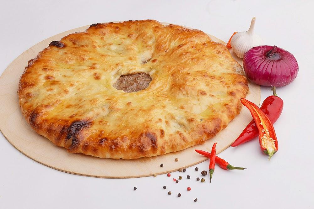 Пироги осетинские с мясом
