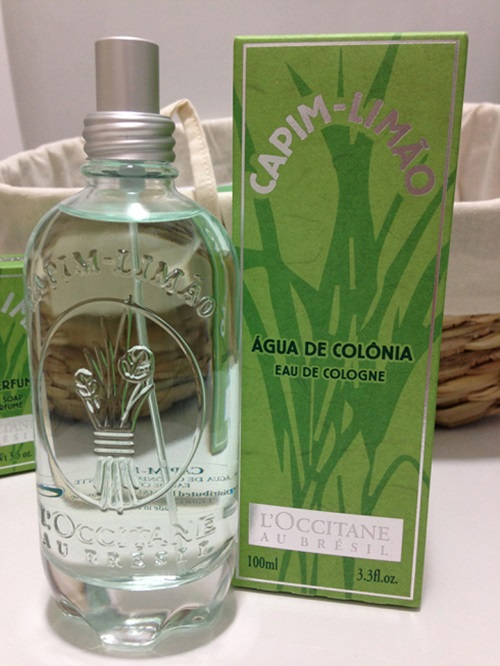Deo Colônia Capim-Limão L'Occitane
