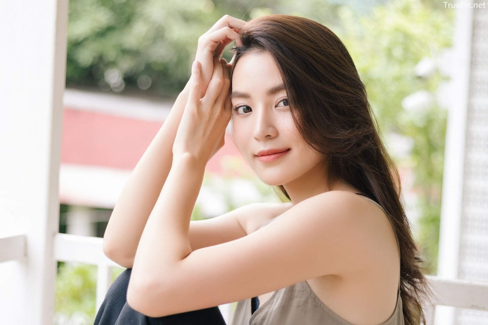 Beauty Thailand Kapook Phatchara so attractive with photo album Bloom with grace - Picture 9