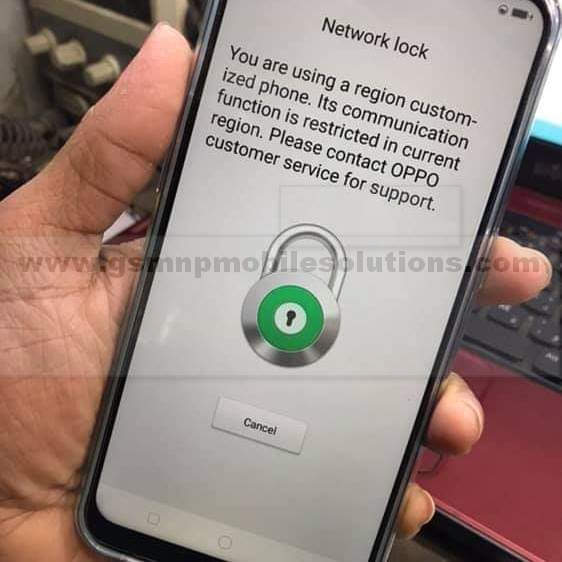 Oppo Realme 2 Pro RMX1801 February 5 Patch network Unlock