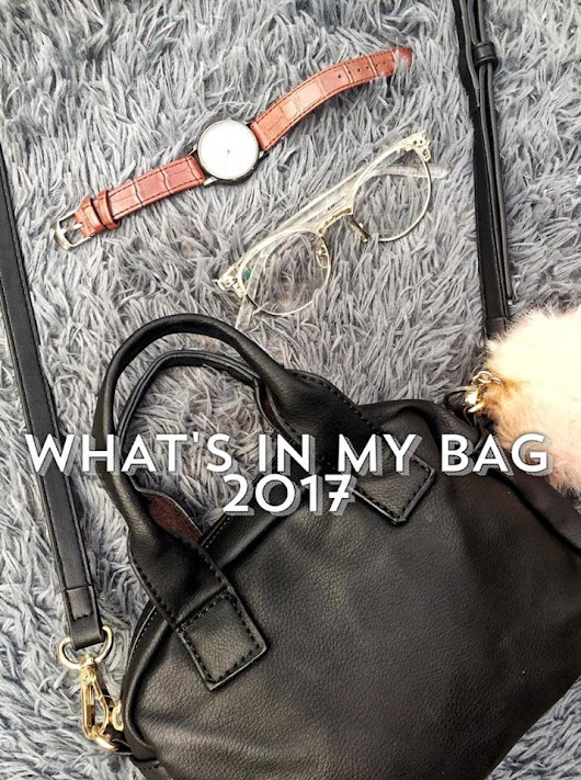 Blank Stares: What's in My Bag