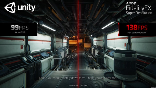 AMD FidelityFX Super resolution will be implemented in Unreal and Unity Engine