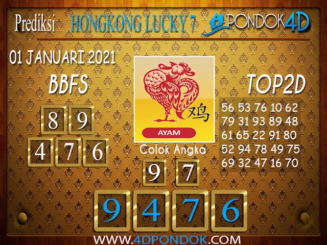 Prediksi Togel HONGKONG LUCKY 7 PONDOK4D 01 JANUARI 2021