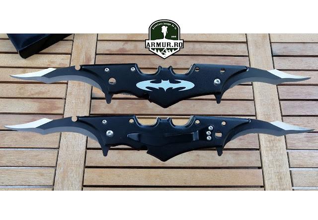 Briceag Batman cu 2 lame cutit Knife