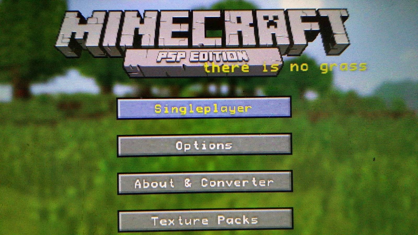 Cara Menginstall Game Minecraft di PSP   HACHIROKU