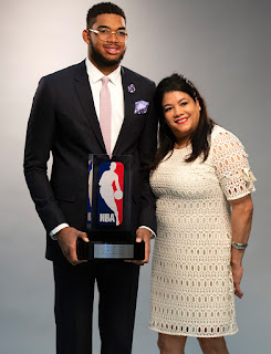 karl anthony towns mom picture