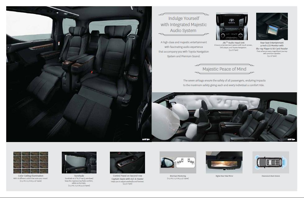 Brosur Grand New Avanza 2018 All Camry Black Toyota Alphard - Promo Jakarta