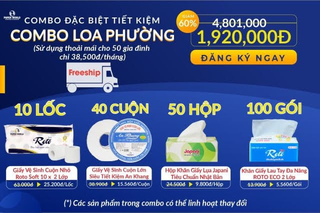 Combo tiết kiệm Combo Loa phường