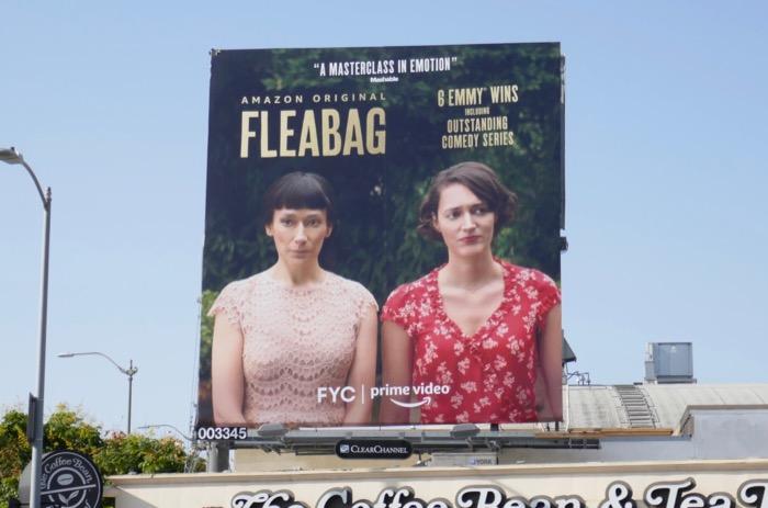 Fleabag season 2 FYC Sian Clifford billboard