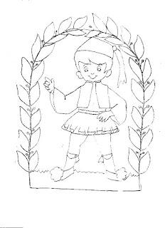 25η Μαρτίου ζωγραφιές για παιδιά