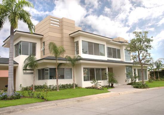 Fachadas de casas modernas y lujosas cocinas modernass for Fachadas de casas rojas modernas
