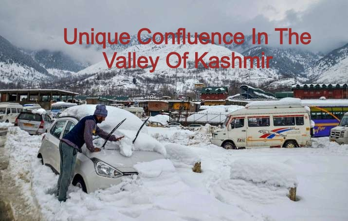 There is a unique confluence in the Valley of Kashmir