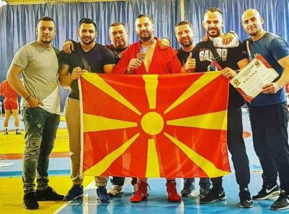 Macedonia returns from the World Championship in Sambo with bronze