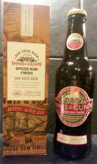 Spiced Rum Finish Oak Aged Beer (Innis and Gunn)