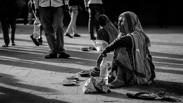 भारत में गरीब