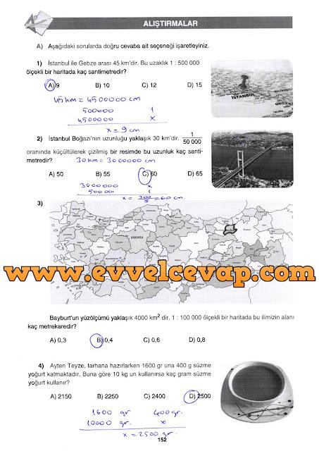 7. Sınıf Gizem Yayınları Matematik Ders Kitabı 118. 119. 120. 126. 128. 133. 136. 139. 143. 152. 153. 158. 161. 165. 175. 176.  Sayfa Cevapları Sayılar ve İşlemler