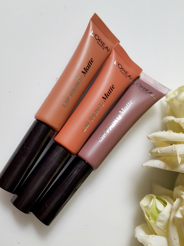 L´Oréal Paris - Summer Makeup Launches 2017 - L´Oréal Paris - LIP PAINT Matte NUDES - je 7.95 Euro - Madame Keke Beauty & Lifestyle Blog