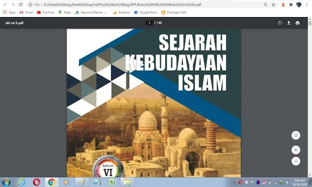 Buku Siswa SKI kelas 6 sesuai kma 183 tahun 2019