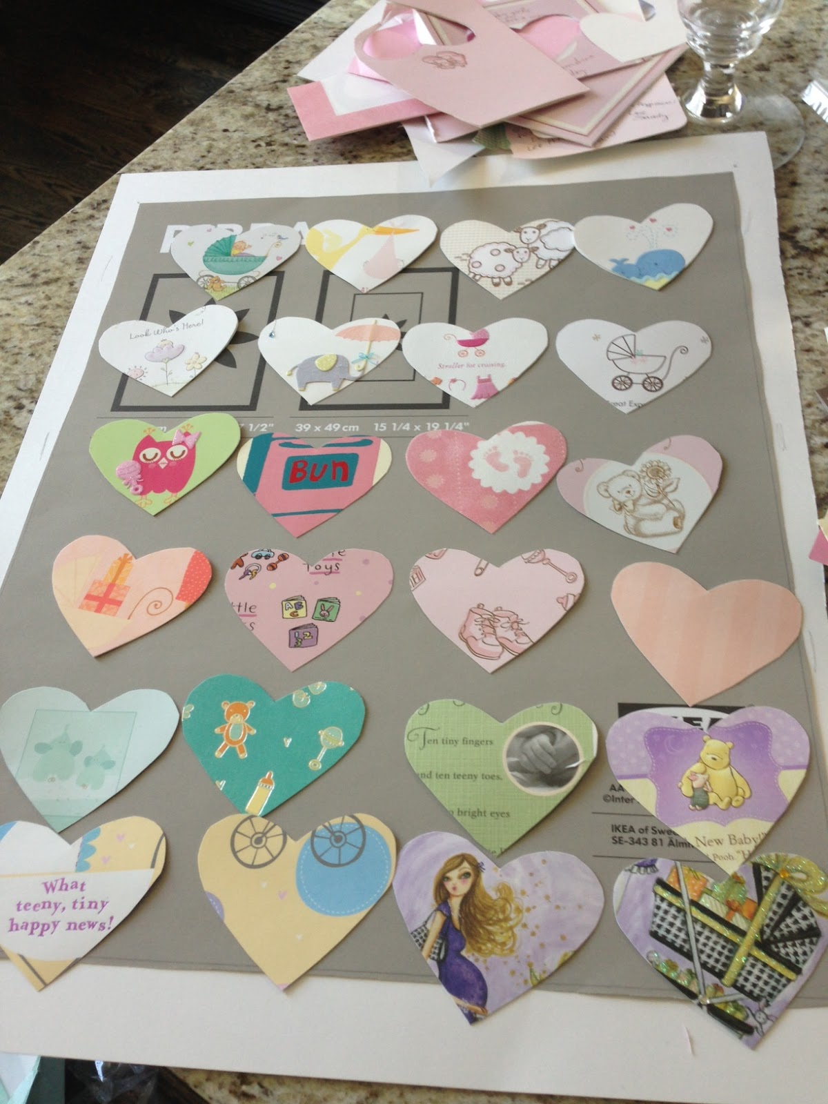 Diy Transform Your Baby Shower Cards Into Nursery Art Veronika S